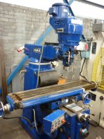 Ajax Turret Milling Machine